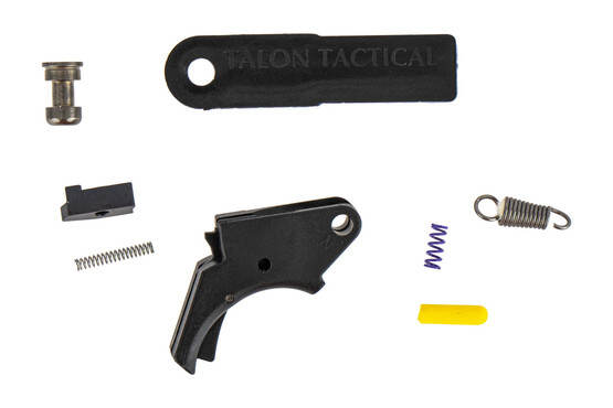 The Apex Tactical Polymer Action Trigger Kit for the M&P handgun comes with all you need to reduce the pull weight